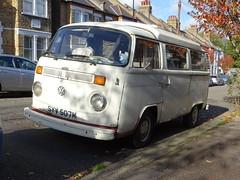 1973 Volkswagen Camper Van (Neil's classics) Tags: vehicle van camper 1973 volkswagen vw camping motorhome autosleeper motorcaravan rv caravanette mobilehome dormobile kombi