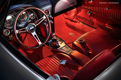 1964 C2 Sting Ray Convertible - Shot 12 (Dejan Marinkovic Photography) Tags: 1964 american c2 car chevrolet chevy classic convertible corvette oldtimer ray sports sting stingray vette interior innenraum carseat detail