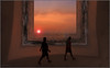 Hey, look at that (G. Postlethwaite esq.) Tags: 2014 december india kerala photoborder sunset surreal