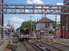 Long Island Railroad 7047 - Mineola (Brian McDevitt 1392) Tags: lirr 7047 mineola bombardier m7 ronkonkoma