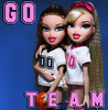 We're On Each Others Team (PancakeBoss) Tags: bratz play sportz teamz cloe meygan softball basketball mga dolls