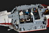 Tantive IV (9) (Kit Bricksto) Tags: lego ucs tantive iv corvette alderan princess leia moc model rebellion alliance tatooine star destroyer chase blockade runner wars new hope episode 4 anniversary cr90