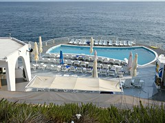 The hotel pool (Linda DV (away)) Tags: lindadevolder lumix geomapped geotagged travel europe malta 2017 mediterraneansea island sliema ribbet