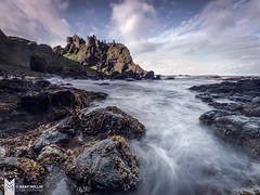 Downlow Dunluce (MarkMolloyImages) Tags: clif nisi sony landscape scenic history buildings architecture blue cloud sky seaweed rock waves sea water costal longexposure northernireland ireland castle