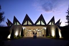 (l i v e l t r a) Tags: d4s nikkor 24mmf14ged f14 westvirginia tamarack art building studios artists dusk night design