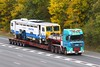 DAF XF BX06 XZY - Allelys (gylesnikki) Tags: m25 kent allelys stgo heavyhaulage truck lorry balfourbeatty rail autumnal autumn swanley