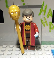 Rassilon (Dion-T-?) Tags: rassilon timelord time lord president lego legominifigure custum comic custom comics doctor who 10th th the gallifrean gallifrey gallifreyan it is his younger look from season 4 end c3po rapos paint mouth angrier ropes timothy dalton james bond