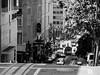 The streets of San Francisco (Leguman vs the Blender) Tags: sanfrancisco california street bw