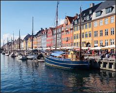 Around Copenhagen 5 (RedMudPup) Tags: boats copenhagen københavn nyhavn waterfront
