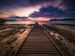 Llandudno Jetty (Richard Walker Photography) Tags: clouds landscape nature wales llandudno longexposure sea sunrise snowdonia
