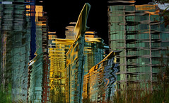 Downtown (petejam70) Tags: wonders wild weird arcitecture building city surreal abstract vancouvercanada