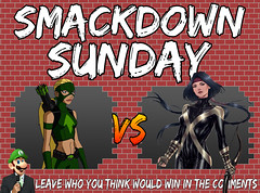 Smackdown Sunday- Artemis VS Moonstar (Luigi Fan) Tags: artemis vs moonstar marvel dc comics