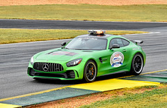 Mercedes AMG GTR pace car (Thumpr455) Tags: 2017 imsa petitlemans race roadatlanta braselton ga october nikon d5500 autoracing car auto automobile sportscar worldcars mercedes amg gtr pacecar green german action speed afnikkor70200mmf28vrii motul