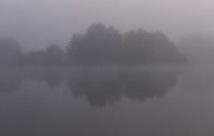 Cerknica Lake (happy.apple) Tags: otok cerknica slovenia si cerkniškojezero cerknicalake slovenija mornig fog autumn fall jesen megla jutro reflection odsev intermittentlake presihajočejezero geotagged