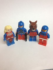 Team Turmoil (Enøshima) Tags: team turmoil lego purist dc minifigures flash villains miasma caliber wildside rumble
