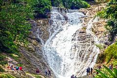 Lata Iskandar (ClickSnapShot) Tags: ilobsterit waterfall lataaskandar cameronhighland tanahrata nature outdoor landmark picnic swimming