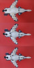ASF-X Shinden II Underside and Landing Gear (Entropedian) Tags: asfx shinden ii ace combat assault horizon infinity lego moc fighter jet stovl variable japan