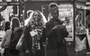 Kai and Rosa on the Strand (Marek Ziebart) Tags: blackandwhite bw noiretblanc streetphotography monochrome documentary people life spontaneity blancoynegro urban schwarzundwiis scharzundweis pretoebranco blancoynero 1000views 1500views artistic