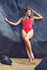 Jemmeah - Ellis Beach (Rob Harris Photography) Tags: red swimwear onepiece sportswear model modelling photoshoot babe beach baywatch barefeet feet legs body figure form beautiful beauty girl gorgeous female woman naturallight