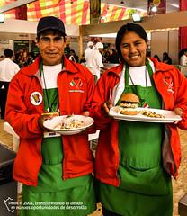 """Presentación """"Chef y agricultor"""" en la Cocina del Gran Mercado (Fondo Ítalo Peruano) Tags: tarwi agricultura agroecología sviluppo"""