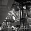Hauptbahnhof (ucn) Tags: filmdev:recipe=11651 moerschecofilmdeveloper developer:brand=moersch developer:name=moerschecofilmdeveloper berggerpancro400 berlin hauptbahnhof mxevs tessar night nacht street
