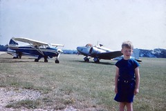 Probably Bournemouth Airport. 1961 (stuartjames5) Tags: bournemouthairport 1961