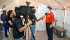DMAT staff member updates media about services being offered (PHEgov) Tags: telemundo tv interview disaster medical assistance team dmat comcast nbc fajardo puerto rico hurricane maria