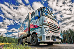 Göranssons XIV (johan.bergenstrahle) Tags: 2017 finepics august augusti fordon hdr lastbil mercedes sommar summer sverige sweden truck vehicle