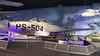 Thunderjet (ƒliçkrwåy) Tags: 4559504 republic f84 f84b thunderjet military aviation aircraft cradle museum ps504 559504