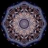Manhattan Bridge and lower Manhattan Circle (Katy Silberger) Tags: aerials geometriccircles geometricdesigns geometrictiles lowermanhattan manhattan