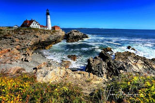 Portland Light - Cape Elizabeth, Maine