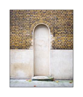 Doorway Denied, South East London, England.