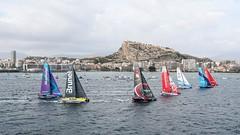 Alicante stopover. Start. Photo by Ainhoa Sanchez/Volvo Ocean Race. 22 October, 2017.