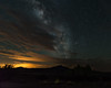 Milky Way over the The Pedernal. (Rouxdy) Tags: milkyway abiquiu newmexico ghostranch