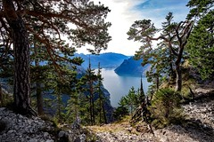misty (Andreas.W.) Tags: misty traunkirchen traunsee traunstein salzkammergut gmunden ebensee alps alpen mountains austrianmountains climbing hiking seeblick lakeview lakeside mountainview panorama wideangle weitwinkel 12mm f20 upperaustria oberösterreich xt10 xt1 fujifilm