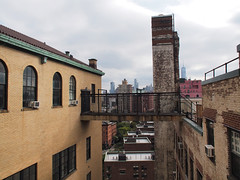 Westbeth (Steven Bornholtz) Tags: open house new york ohny city ny nyc architecture october 2017 us usa united states america picture photography imagery olympus camera site place steve bornholtz steven djmidway midway details getolympus manhattan ohnywknd pen ep5 westbeth artist residence exterior roof deck