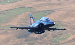 Special Tail Hawk (Treflyn) Tags: bae hawk t2 zk020 k cad west mach loop training sortie raf valley royal air force low level lfa7 wales special tail