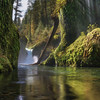 'When Will I See You?'' - Punchbowl Falls, Oregon (Gavin Hardcastle - Fototripper) Tags: punchbowl falls oregon columbiarivergorge eagle creek waterfalls spring moss green light rays water reflections gavinhardcastle fototripper