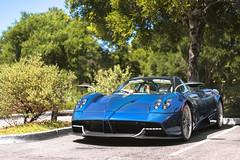 Huayra Roadster (Axion23) Tags: pagani huayra roadster blue carbon fiber carmel monterey car week 2017