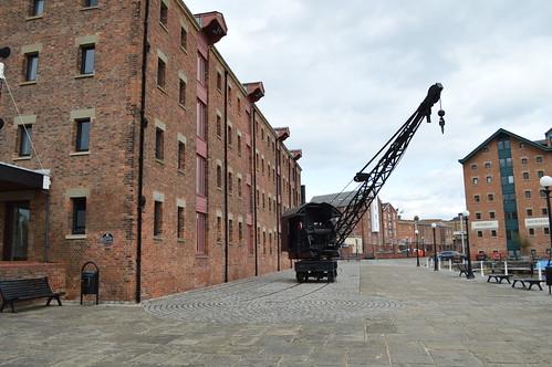 Gloucester Docks crane