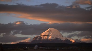 Gangs Rin Po Che or Mt Kailash in sunset, Tibet 2017