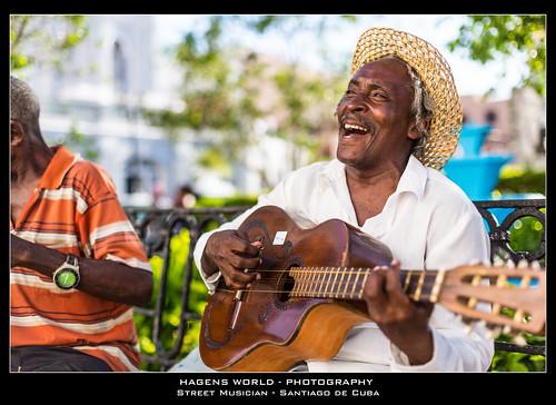 Street Musician - Santiago de Cuba