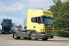 TV018106-Manchester. (day 192) Tags: manchester manchestercityfootballclub mcfc etihadstadium greatnorthwesttruckshow truckshow transportrally transportshow lorry lorries wagon truck scania 144l scania144l n364dnk