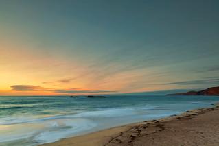 Sandwood Bay at Sunset