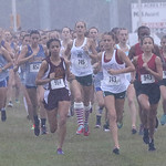 LHS XC, JV/Varsity Women, Run Hard Invite, 10-7