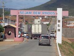 São Bento do Trairí - Pórtico na entrada da cidade (Sergio Falcetti) Tags: brasil cidade pórtico riograndedonorte rn sãobentodotrairí viagem