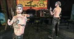 Look # 209 (Fuxicando Moda SL For Man) Tags: 7deadlyskins junaartistictatoo nativeurban menonlyhunt adclothing noedition