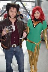 DSC_0182 (Randsom) Tags: newyorkcomiccon october7 2017 nycc nyc newyorkcity costume jacobjavits comic con convention cosplay marvelcomics marvel superhero xmen hero mutant wolverine phoenix spandex duo couple javits october6