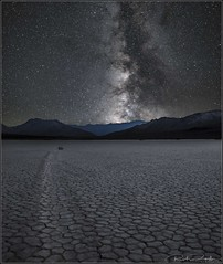 **PLAY ON INTO THE NIGHT PLAYA** (Rich Zoeller Photography) Tags: richzoeller rich zoeller photography richzoellerphotography thatkidrich tkr explore traveler milkyway milkywaygalaxy galaxy dry deathvalley fineart nightphotography night canon canonphotography playa racetrack grandstand california stars movingrocks mountains landscape nationalgeographic travel trails airglow