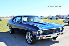 1972 Chevrolet Nova SS Tribute (Gerald (Wayne) Prout) Tags: 1972chevroletnovasstribute 2017winterfloridaautofestlakeland lakelandlinderregionalairport cityoflakeland polkcounty florida usa stateofflorida prout geraldwayneprout canon canoneos60d eos 60d digital camera photographed photography display 1972 chevrolet novass tribute nova ss musclecar gm generalmotors 2017 winter autofest lakeland linder regional airport carshow car automobile vehicle classic vintage state chevy antique historical carlisleauctions carlisle auction